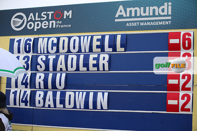 Graeme McDowell (NIR) on top during the Final Round of the Alstom Open de France from Le Golf National, Guyancourt, Versailles, France. Picture:  David Lloyd / www.golffile.ie