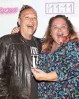 "LOS ANGELES - JUN 9:  Keith Coogan, Pinky Coogan at the ""Famous""  A Play By Michael Leoni - Arrivals at the The 11:11 Experience on June 9, 2019 in West Hollywood, CA"
