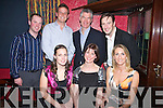 NIGHT OUT: Enjoying a great night out at a fundraiser for Fenit Lifeboat in the Tankard Restaurant, Fenit on Saturday night were front l-r: Hazel Reidy, Joanne Blennerhassett and Frances Clifford. Back l-r: Conor Maunsell, Roland Blennerhassett, Brian O'Sullivan and Colum O'Sullivan.