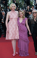 Elisabeth Moss &amp; Gwendoline Christie at the premiere for &quot;The Beguiled&quot; at the 70th Festival de Cannes, Cannes, France. 24 May 2017<br /> Picture: Paul Smith/Featureflash/SilverHub 0208 004 5359 sales@silverhubmedia.com