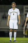17 October 2014: Notre Dame's Matt Habrowski. The Duke University Blue Devils hosted the Notre Dame University Fighting Irish at Koskinen Stadium in Durham, North Carolina in a 2014 NCAA Division I Men's Soccer match. Notre Dame won the game 4-1.