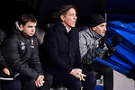 Celta de Vigo's coach Eduardo Berizzo during Copa del Rey match between Real Madrid and Celta de Vigo at Santiago Bernabeu Stadium in Madrid, Spain. January 18, 2017. (ALTERPHOTOS/BorjaB.Hojas)