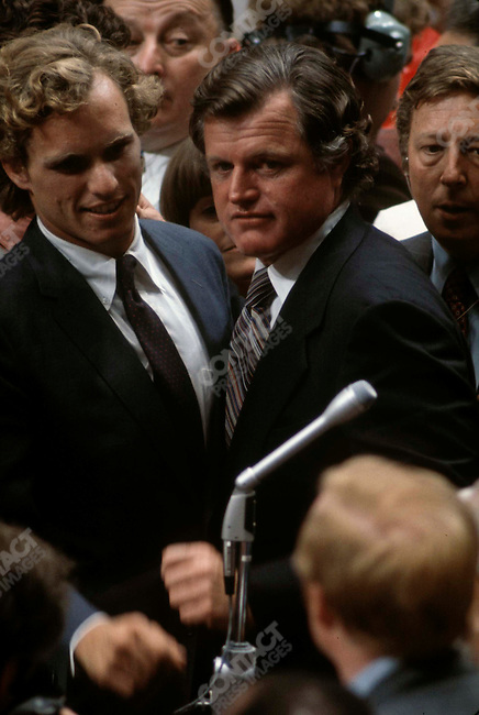 Senator Edward (Ted) Kennedy (D-MA), Democratic National Convention, New York City, New York, July, 1976