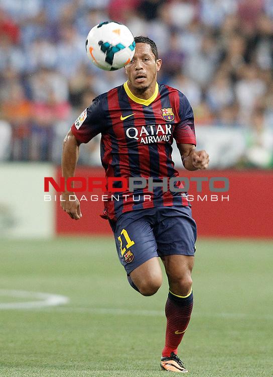 FC Barcelona's Adriano Correia during La Liga match.August 25,2013. Foto © nph / Acero)