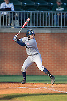 Grayson Lewis (22) of the Rice Owls at bat against the Charlotte 49ers at Hayes Stadium on March 6, 2015 in Charlotte, North Carolina.  The Owls defeated the 49ers 4-2.  (Brian Westerholt/Four Seam Images)