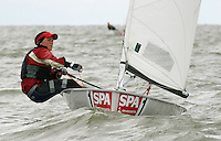 20th SPA Regatta - Medemblik.26-30 May 2004..Copyright free image for editorial use. Please credit Peter Bentley..Sirenb Sundby - NOR