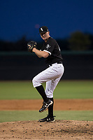 AZL White Sox relief pitcher Carter Love (43) delivers a pitch during an Arizona League game against the AZL Diamondbacks at Camelback Ranch on July 12, 2018 in Glendale, Arizona. The AZL Diamondbacks defeated the AZL White Sox 5-1. (Zachary Lucy/Four Seam Images)