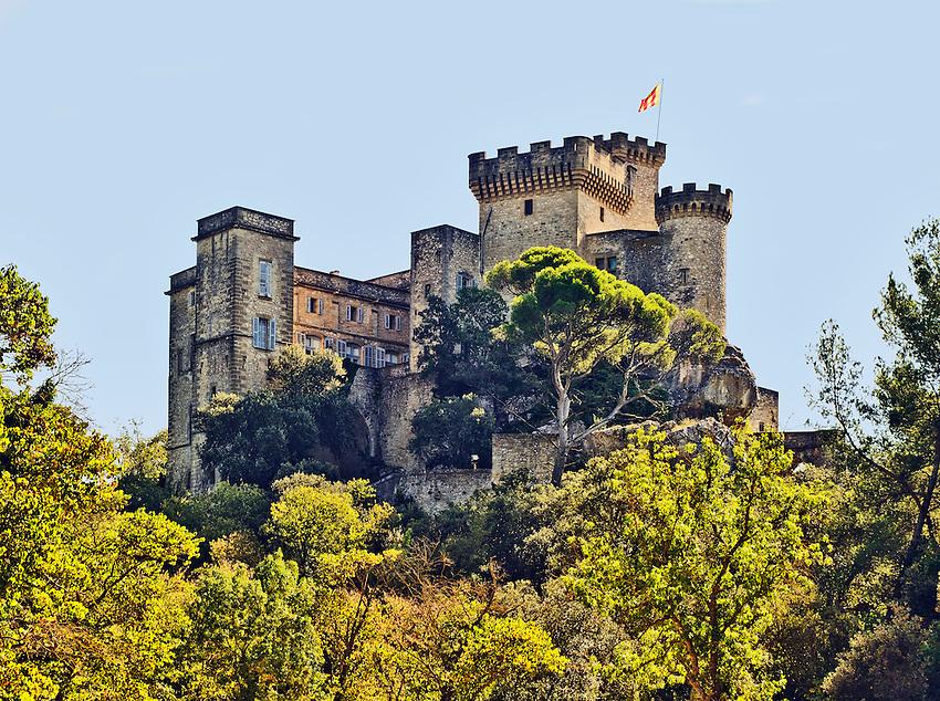 The Château de la Barben, located between Aix-en-Provence and Salon-de-Provence.