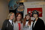 """Another World's Lauri Landry """"Nicole Love""""  poses with Jacklyn Zeman """"Bobbie Spencer"""" - General Hospital and Jane Elissa as they raise money for Leukemia and Cancer Research. Photo by Sue Coflin/Max Photos)"""