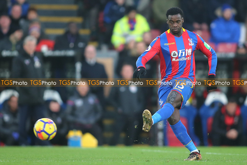 Jeffrey Schlupp of Crystal Palace during Crystal Palace vs AFC Bournemouth, Premier League Football at Selhurst Park on 9th December 2017