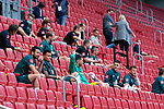 Bremer Auswechselbank auf der Tribuene - Claudio Pizarro (Werder Bremen #14), Stefanos Kapino (Werder Bremen #27), Milot Rashica (Werder Bremen #07), Philipp Bargfrede (Werder Bremen #44), Davie Selke  (SV Werder Bremen #09), Kevin Vogt (Werder Bremen  #03), Fin Bartels (Werder Bremen #22)<br /> <br /> <br /> Sport: nphgm001: Fussball: 1. Bundesliga: Saison 19/20: 33. Spieltag: 1. FSV Mainz 05 vs SV Werder Bremen 20.06.2020<br /> <br /> Foto: gumzmedia/nordphoto/POOL <br /> <br /> DFL regulations prohibit any use of photographs as image sequences and/or quasi-video.<br /> EDITORIAL USE ONLY<br /> National and international News-Agencies OUT.