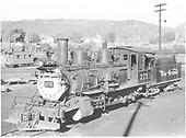D&amp;RGW #375 in Durango yard.  Renumbered from D&amp;RGW #432.<br /> D&amp;RGW  Durango, CO  ca 1949