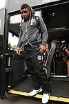 Bath's Kyle Eastmond arrives at Adam's Park - Rugby Union - 2014 / 2015 Aviva Premiership - Wasps vs. Bath - Adams Park Stadium - London - 11/10/2014 - Pic Charlie Forgham-Bailey/Sportimage