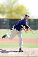 Drew Miller, San Diego Padres 2010 minor league spring training..Photo by:  Bill Mitchell/Four Seam Images.