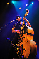LONDON, ENGLAND - NOVEMBER 12: Miles Mosley performing at Islington Assembly Hall on November 12, 2017 in London, England.<br /> CAP/MAR<br /> &copy;MAR/Capital Pictures