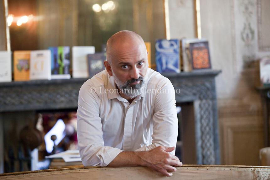 Giuseppe Antonelli; è un filologo e linguista italiano e scrittore; cultura italiana. Manntova 5 settembre 2019. Photo Leonardo Cendamo