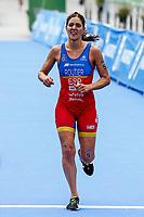 Carolina Routier of Spain during the 2017 Madrid ITU Triathlon World Cup in Madrid, May 28, 2017. Spain.. (ALTERPHOTOS/Rodrigo Jimenez) /NortePhoto.com
