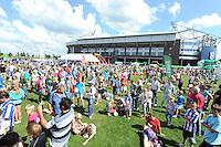 VOETBAL: HEERENVEEN: Abe Lenstra Stadion, 07-07-2012, Open Dag, volgens SC Heerenveen trok de Open Dag dit jaar een recordaantal van 18.000 bezoekers, ©foto Martin de Jong