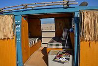 Classic Volkswagen Van on the Huntington Beach Pier