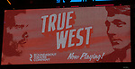 "during the Broadway Opening Night Curtain Call for the Roundabout Theatre Production of ""True West"" at the American Airlines Theatre on January 24, 2019 in New York City."