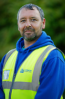 Pictured: Michael Sykes. Wednesday 11 October 2018 <br /> Re: Clydach Construction in Clydach, south Wales, UK.