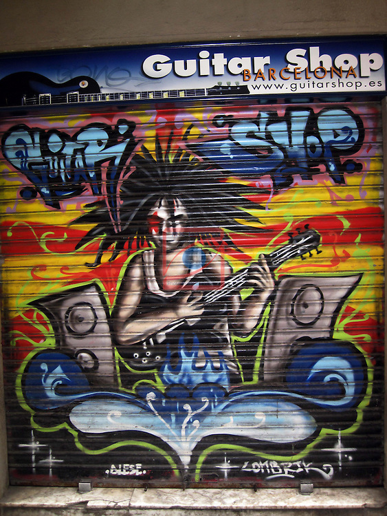 Graffitis - Barcelona.