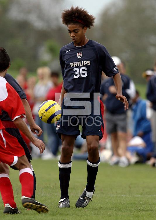 Bryan Arguez, Nike Friendlies, 2004.