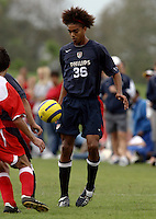 Bryan Arguez, Nike Friendlies, 2004.