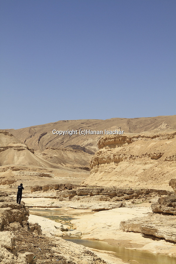 Israel, Negev, a view of Wadi Zin