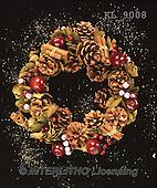 Interlitho, CHRISTMAS SYMBOLS, WEIHNACHTEN SYMBOLE, NAVIDAD SÍMBOLOS, photos+++++,spices wreath,KL9008,#xx#