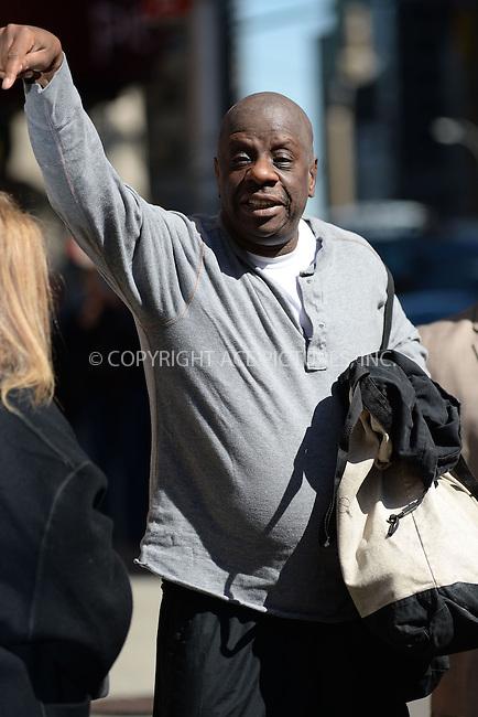 WWW.ACEPIXS.COM <br /> April 21, 2014 New York City<br /> <br /> Jimmie &quot;J.J.&quot; Walker arrives to tape an appearance on the Late Show with David Letterman on April 21, 2014 in New York City.<br /> <br /> Please byline: Kristin Callahan  <br /> <br /> ACEPIXS.COM<br /> Ace Pictures, Inc<br /> tel: (212) 243 8787 or (646) 769 0430<br /> e-mail: info@acepixs.com<br /> web: http://www.acepixs.com