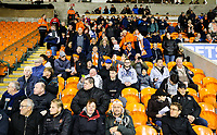 Blackpool fans take their seats before the match<br /> <br /> Photographer Alex Dodd/CameraSport<br /> <br /> The EFL Checkatrade Trophy Northern Group C - Blackpool v West Bromwich Albion U21 - Tuesday 9th October 2018 - Bloomfield Road - Blackpool<br />  <br /> World Copyright &copy; 2018 CameraSport. All rights reserved. 43 Linden Ave. Countesthorpe. Leicester. England. LE8 5PG - Tel: +44 (0) 116 277 4147 - admin@camerasport.com - www.camerasport.com