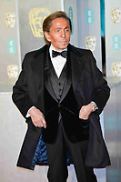 LONDON, UK - FEBRUARY 10: Valentino at the 72nd British Academy Film Awards held at Albert Hall on February 10, 2019 in London, United Kingdom. Photo: imageSPACE/MediaPunch<br /> CAP/MPI/IS<br /> ©IS/MPI/Capital Pictures