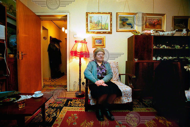 """Elisabeta Maria (69), a retired widow who used to work in accounting at the state petroleum factory. """"I never had sympathy for Ceaucescu. But I feel nostalgic about the old times when we could go every week to the theatre, to exhibitions and parties."""""""
