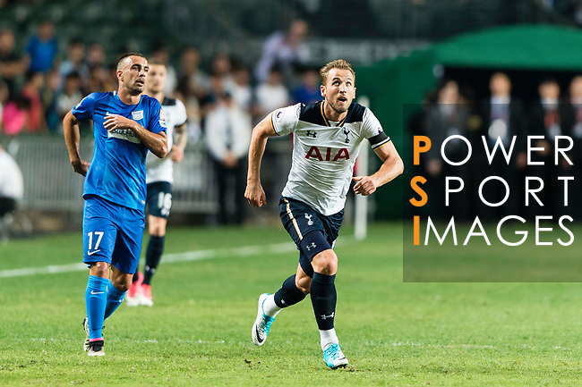 Tottenham Hotspur striker Harry Kane in action during the Friendly match between Kitchee SC and Tottenham Hotspur FC at Hong Kong Stadium on May 26, 2017 in So Kon Po, Hong Kong. Photo by Man yuen Li  / Power Sport Images