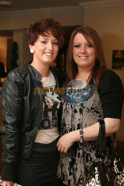 Michelle Bolger and Michelle Monaghan at the Full Monty in Aid of The Jack and Jill Foundation in The Westcourt Hotel...Photo NEWSFILE/Jenny Matthews.(Photo credit should read Jenny Matthews/NEWSFILE)....This Picture has been sent you under the condtions enclosed by:.Newsfile Ltd..The Studio,.Millmount Abbey,.Drogheda,.Co Meath..Ireland..Tel: +353(0)41-9871240.Fax: +353(0)41-9871260.GSM: +353(0)86-2500958.email: pictures@newsfile.ie.www.newsfile.ie.FTP: 193.120.102.198.