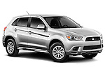 Front three quarter view of a 2012 Mitsubishi Outlander Sport