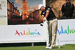 Graeme Storm (ENG) in action on the 16th tee during Day 1 Thursday of the Open de Andalucia de Golf at Parador Golf Club Malaga 24th March 2011. (Photo Eoin Clarke/Golffile 2011)