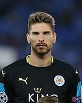 Leicester's Ron-Robert Zieler during the Champions League group B match at the King Power Stadium, Leicester. Picture date November 22nd, 2016 Pic David Klein/Sportimage