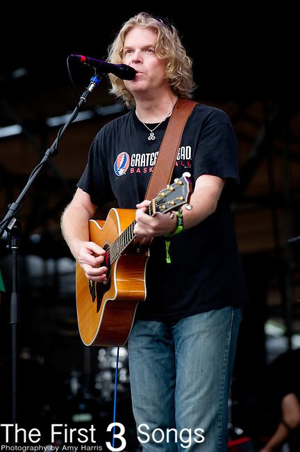 Rob Eaton of Dark Star Orchestra performs during the All Good Music Festival at Legend Valley in Thornville, Ohio.