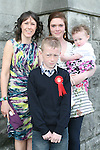 Jake Farrell and family at the Confirmation in St.Mary's Church...Photo NEWSFILE/Jenny Matthews.(Photo credit should read Jenny Matthews/NEWSFILE)....This Picture has been sent you under the condtions enclosed by:.Newsfile Ltd..The Studio,.Millmount Abbey,.Drogheda,.Co Meath..Ireland..Tel: +353(0)41-9871240.Fax: +353(0)41-9871260.GSM: +353(0)86-2500958.email: pictures@newsfile.ie.www.newsfile.ie.FTP: 193.120.102.198.