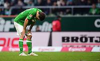 FUSSBALL   1. BUNDESLIGA   SAISON 2012/2013    24. SPIELTAG SV Werder Bremen - FC Augsburg                           02.03.2013 Sokratis Papastathopoulos (SV Werder Bremen)