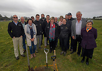 South Wairarapa Vet Services Clareville Vet Clinic Sod-Turning Ceremony at Carterton, New Zealand on Thursday, 4 August 2017. Photo: Dave Lintott / lintottphoto.co.nz