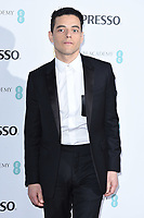 Rami Malek<br /> arriving for the 2019 BAFTA Film Awards Nominees Party at Kensington Palace, London<br /> <br /> ©Ash Knotek  D3477  09/02/2019