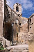 Europe/France/Corse/2B/Haute-Corse/Balagne/Calvi: La citadelle - L'église San Giovanni Batista