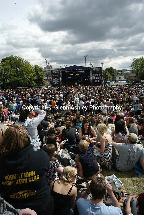 Tramlines, Sheffield, United Kingdom, 23rd July 2011. Photo by Glenn Ashley.