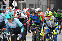NWA Democrat-Gazette/J.T. WAMPLER Image from the criterium portion of the 41st annual Joe Martin Stage Race in downtown Fayetteville Sunday April 15, 2018.