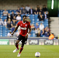 Ipswich Town's Dominic Iorfa in action during the Sky Bet Championship match between Millwall and Ipswich Town at The Den, London, England on 15 August 2017. Photo by Carlton Myrie.