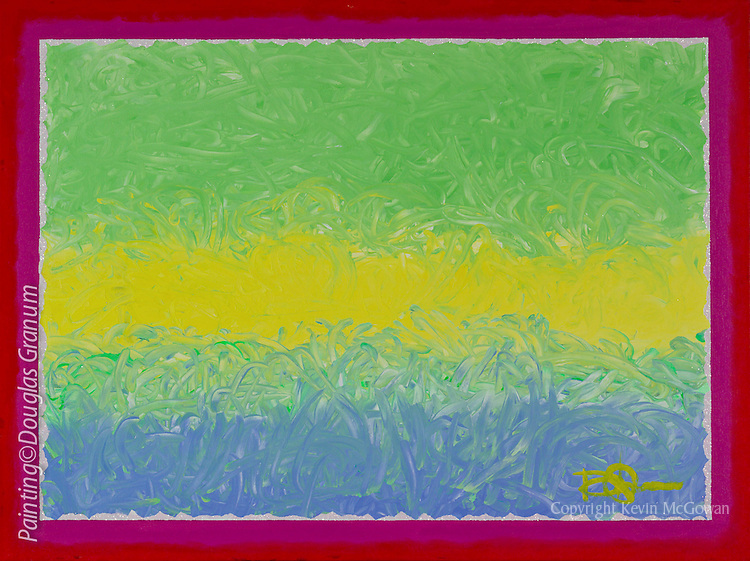 Painting by multi disipline artist Douglas Granum. See more works at www.douglasgranum.com