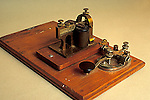 Antique telegraph key<br />